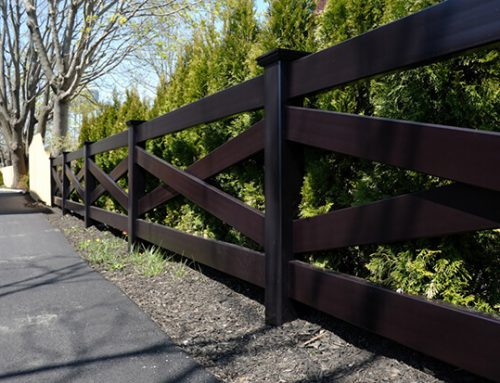 ES-H04 Black Cross Horse Fence